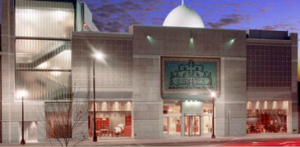 The front of the Arab American National Museum